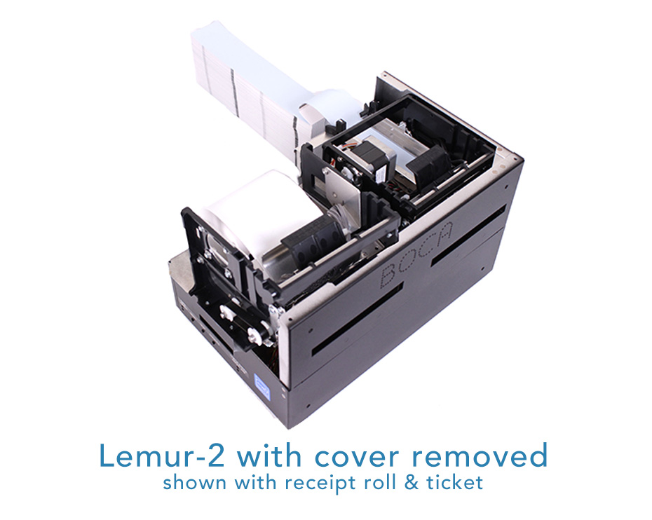 Lemur-2 cover removed